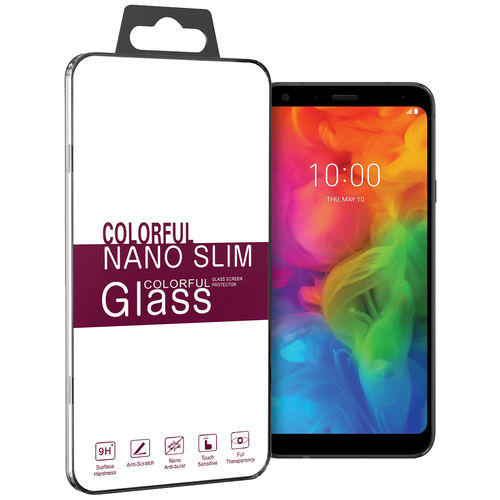 9H Tempered Glass Screen Protector for LG Q7 - Clear